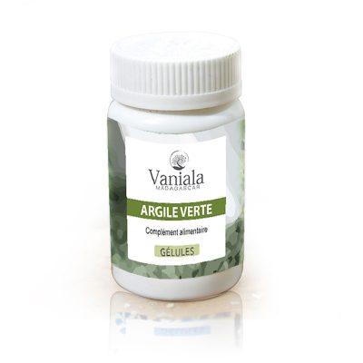 Gellules de plantes Argile verte Vaniala