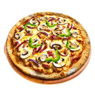 Pizza Lorraine