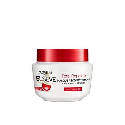 Elseve Total Repair 5 Masque Reconstituant Enrichi en Acides Aminés/Céramide 300ml L'Oréal